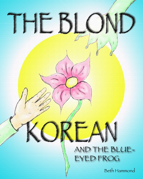Book cover Blond with hyphen